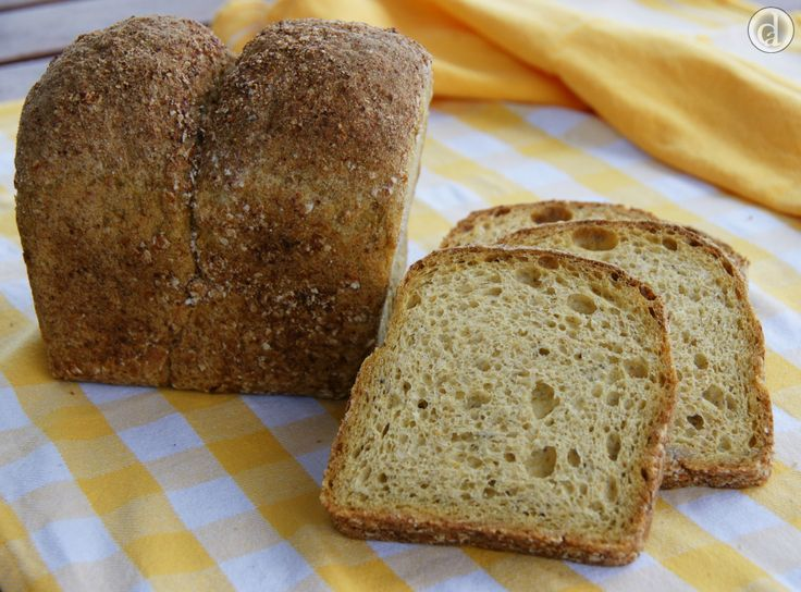 This gluten free Buckwheat & Chia Sourdough was beautifully crusty with a soft middle - delicious!