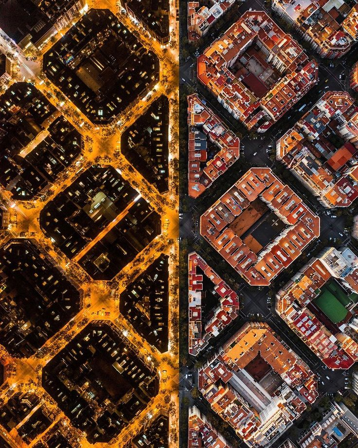 Will Cheyney On Instagram Back To Barca Night And Day Urban Earthoffical Eixample Spain Barcelona Day For Night Symmetry Photography Barcelona