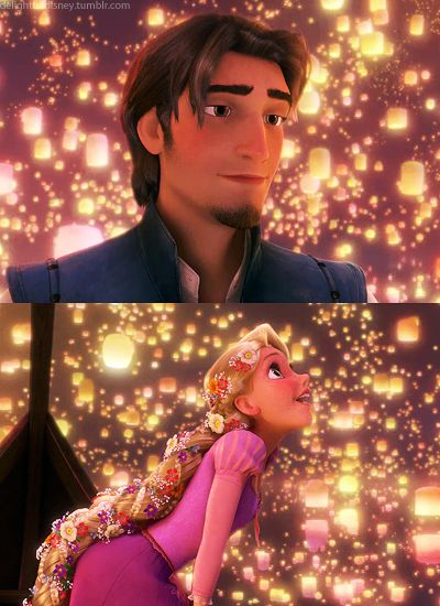 The degree of crazy to which I love Rapunzel and Eugene probably does not support my claim of sanity...#thisisjusttoocute