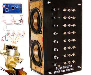 Multitonal Step Sequencer & Sonic Art Noise Blaster. E.Z. my own beginner code.