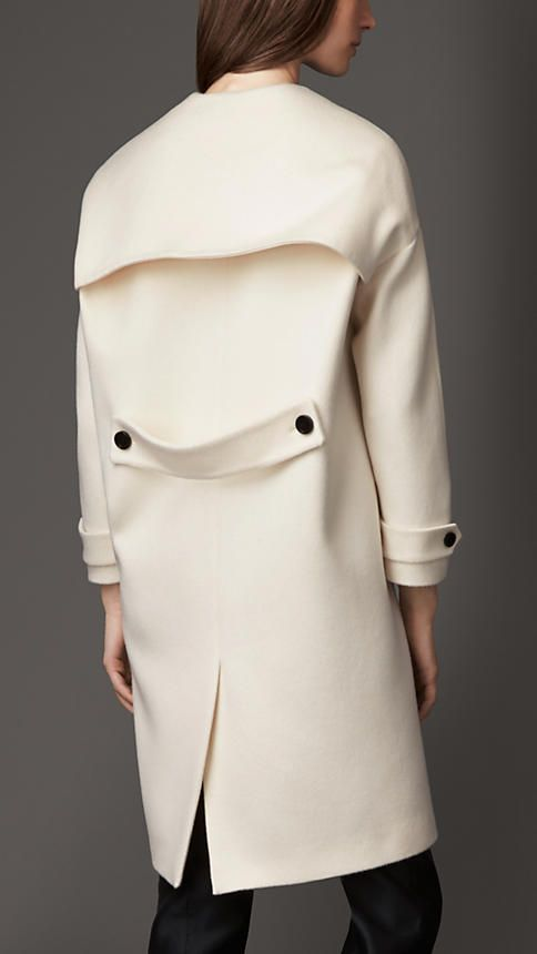 Burberry London Cashmere Dropped Shoulder Caban