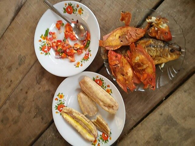 Supper made from Sentani Lake