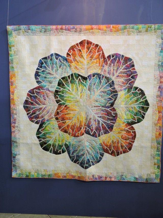 "2016  tokyo international quilt festival | ""Hannah Cabbage"""