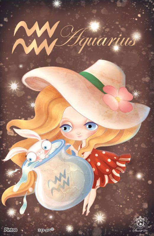 little lady Aquarius