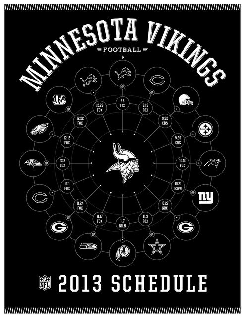 Minnesota Vikings 2013 Schedule