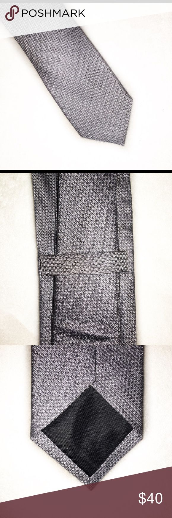 "Saks Fifth Avenue Silk Tie • Saks Fifth Avenue • 100% Silk • Slim Tie • Length - 60"" • Bottom Width - 2.5"" Saks Fifth Avenue Accessories Ties"