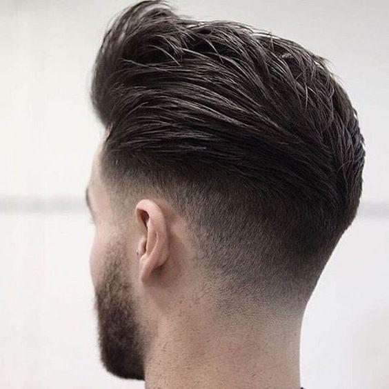 Resultado de imagen para corte de pelo hombre rapado a los costados desvanecido