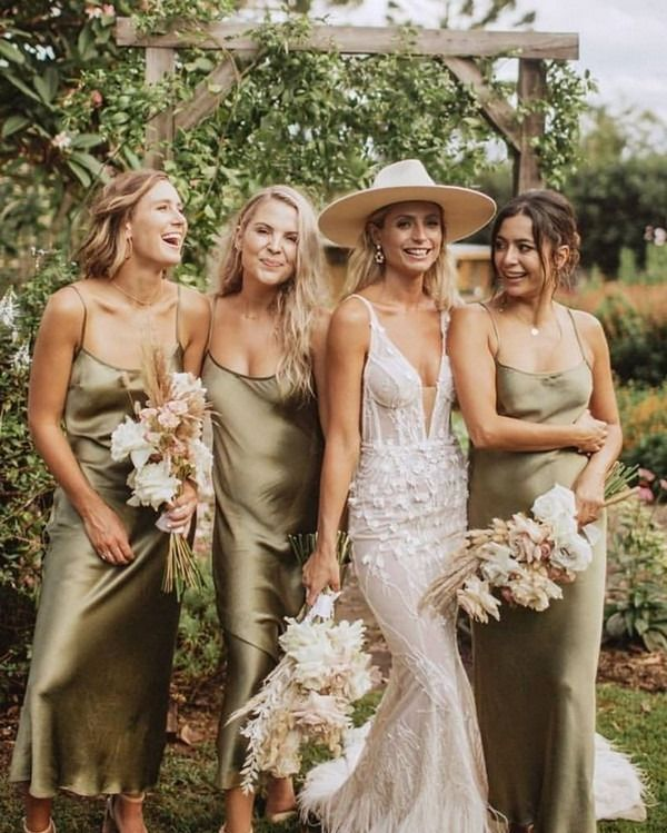 Top 10 Bridesmaid Dresses Trends And Colors For 2020 My Deer Flowers Part 2 Sage Green Bridesmaid Dress Green Bridesmaid Dresses Slip Bridesmaids Dresses