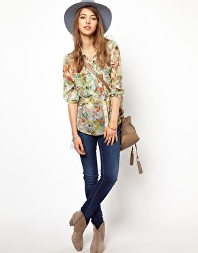 Pepe Jeans London Floral Shirt