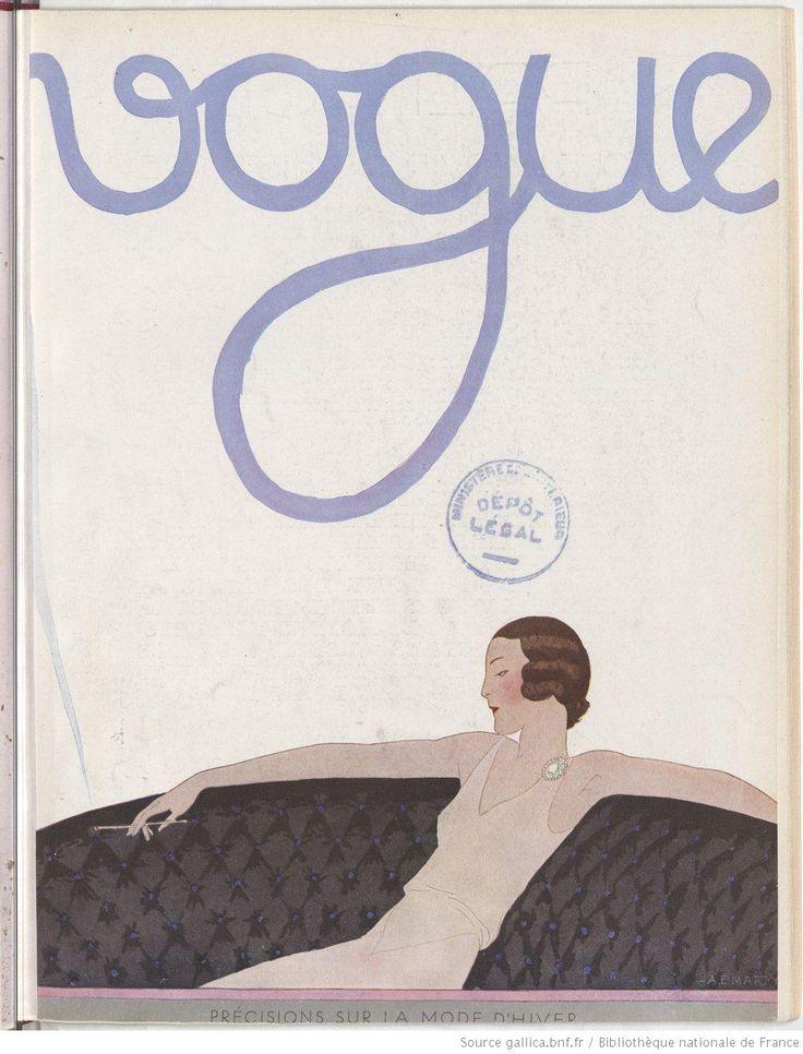 Vogue (Paris), août 1930
