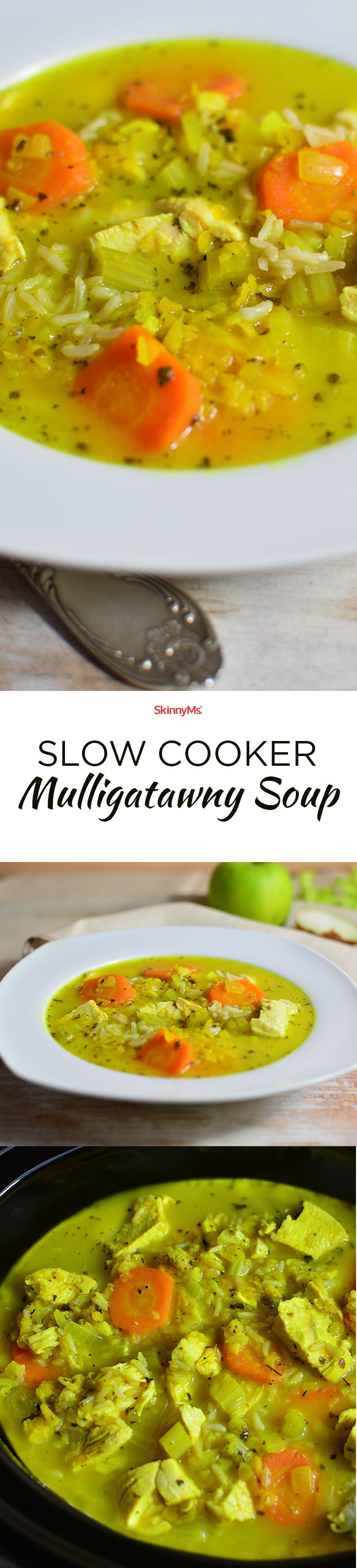 Have you ever had mulligatawny? Best soup ever! | Slow Cooker Mulligatawny Soup | mulligatawny soup slow cooker recipe | Skinny Ms.