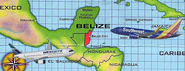 Even More Flights to Belize!  Getting to Belize will be easier as yet another airline has added Belize to their flight destination.