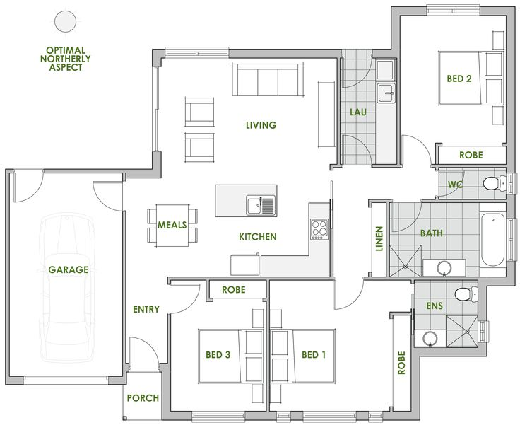 Callistemon - Energy Efficient Home Design - Green Homes Australia