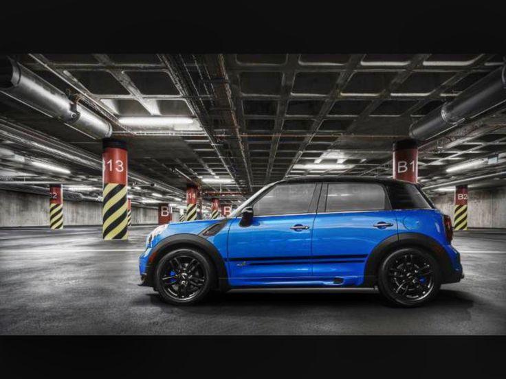 2012 Mini Countryman S All4 True Blue With Jcw R129 Matte Black 19 Rims Cooper Countryman Mini Cooper Countryman Mini Cooper