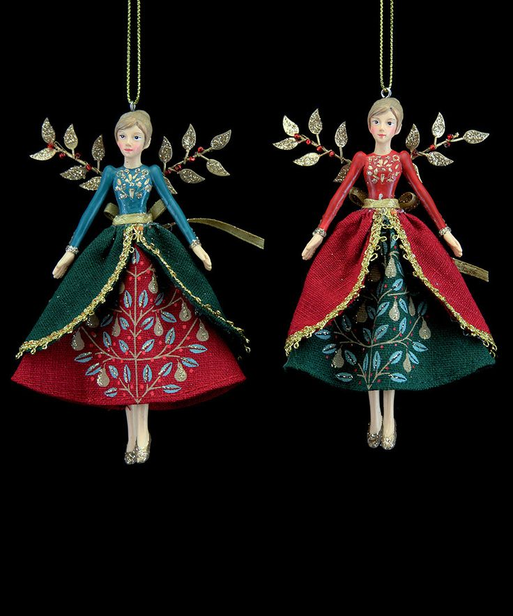 Gisela Graham Christmas fairies