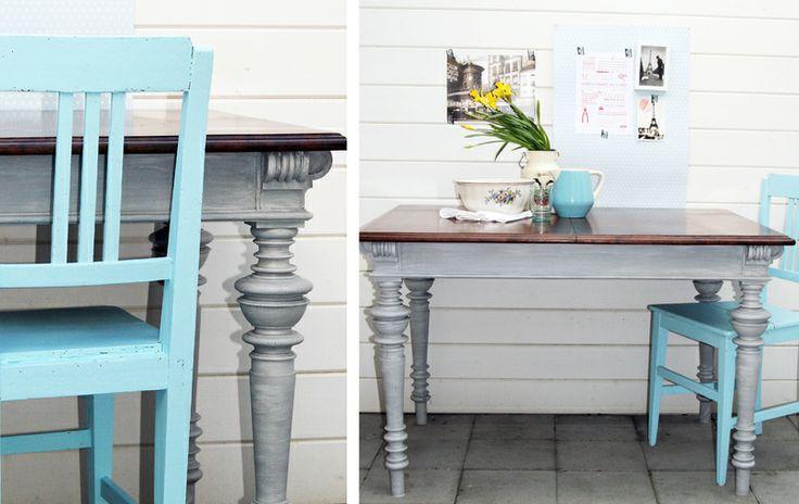antiker Tisch, Esstisch - Gründerzeit von shopNo505 auf DaWanda.com