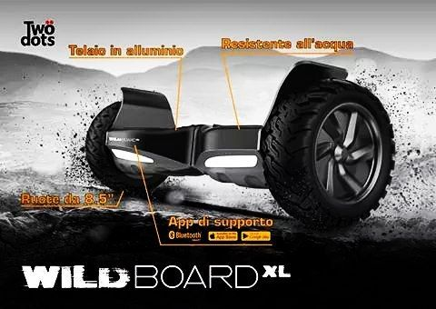 "Wildboard XL è il veicolo elettrico dallo spirito selvaggio.  Ruote da 8.5"" resistente all'acqua  telaio in alluminio e app di supporto. Board to be wild! #moveyourfun #boardtobewild #veicolielettrici #twodotstechnology #fun #future #futuro #vehicle #electricvehicle #italia #happy #italy by twodotstechnology"