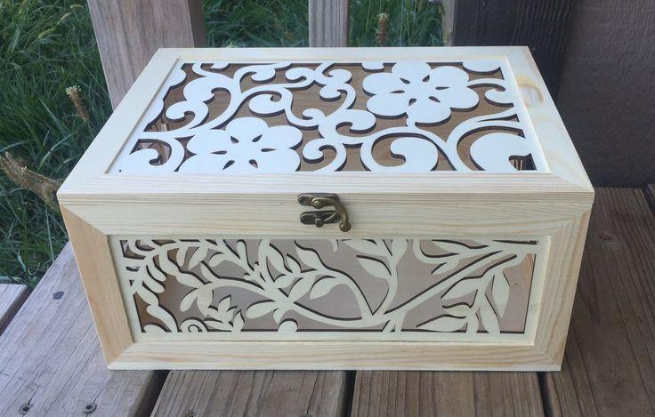 Elegant Wooden Cardbox