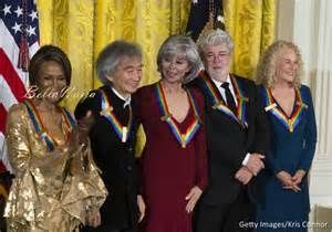 38th Annual Kennedy Center Honors will be televised on CBS Network at 8pm-11pm on December 29, 2015.