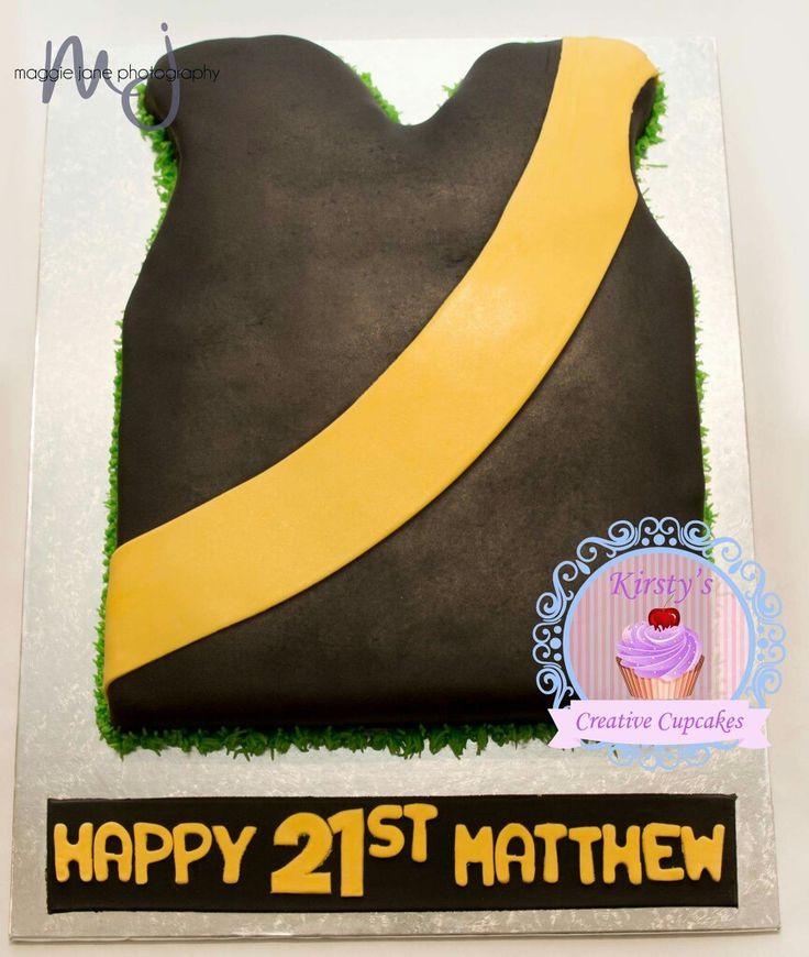 Richmond AFL cake