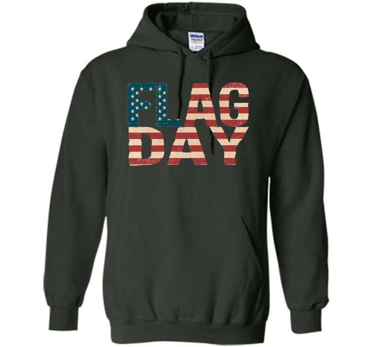 Flag Day T-Shirt with American Flag for June 14th