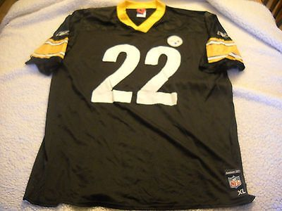 ❤$13.49, Free Shipping, Jan 4th.❤ Duce-Staley-22-Men-s-XL-Pittsburgh-Steelers-NFL-Reebok-Players-Jersey