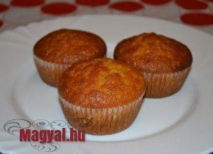 Sütőtökös muffin - Magyal.hu - recept