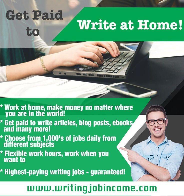 You are a freelance writer who seeks