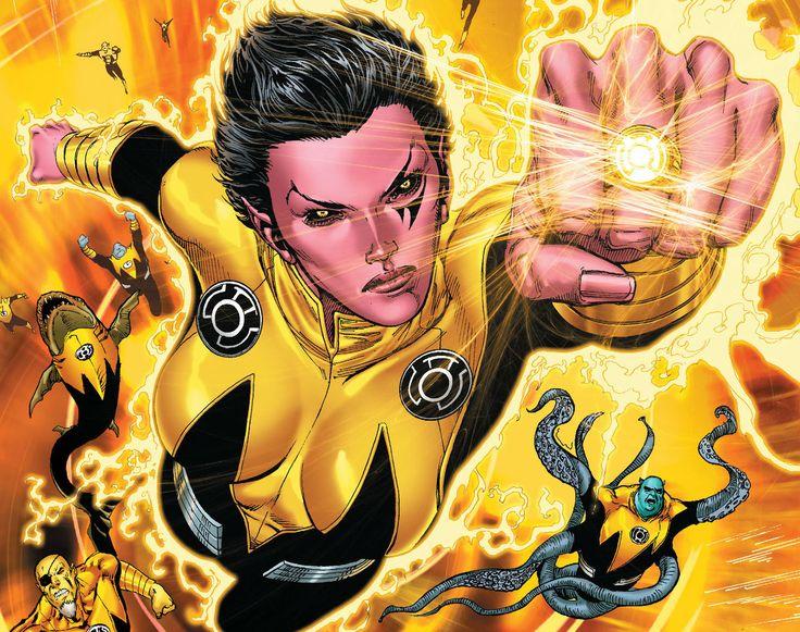 Yellow Lantern Soranik Natu by Ethan Van Sciver