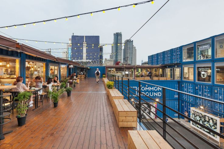 Common Ground: world's largest shipping container shopping mall pops up in Seoul | Inhabitat - Green Design, Innovation, Architecture, Green Building