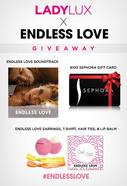 Enter to Win a $100 Sephora Gift Card and more in the #EndlessLove Giveaway