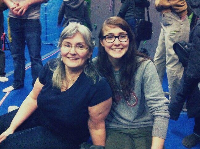 momma and i.