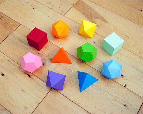Formes géométriques à construire