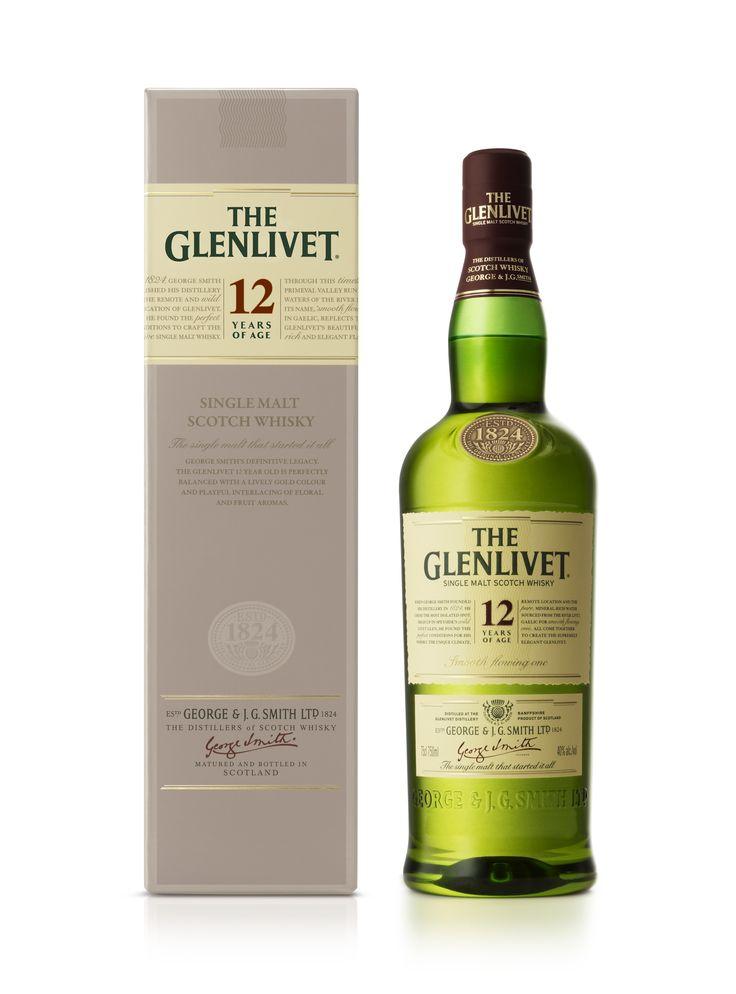 The Glenlivet 12 Year Old Packaging designed by Turner Duckworth.