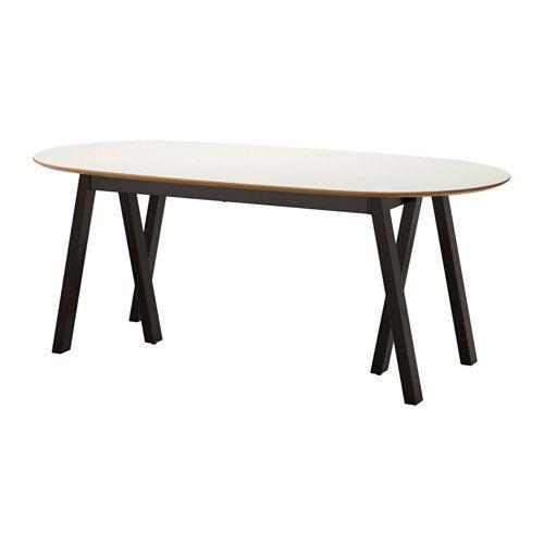 SLÄHULT Tafel - Grebbestad zwart - IKEA