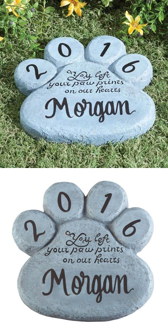 Pet Memorials and Urns 116391 Personalized Paw Print Dog
