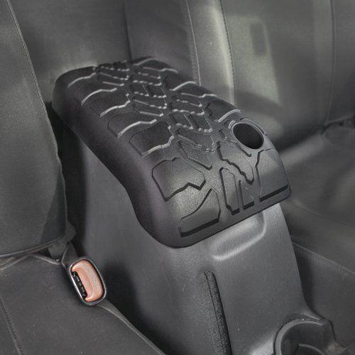 2001-2006 Jeep Wrangler (TJ) Tire Tread ArmPad - Center Console Armrest Cushion