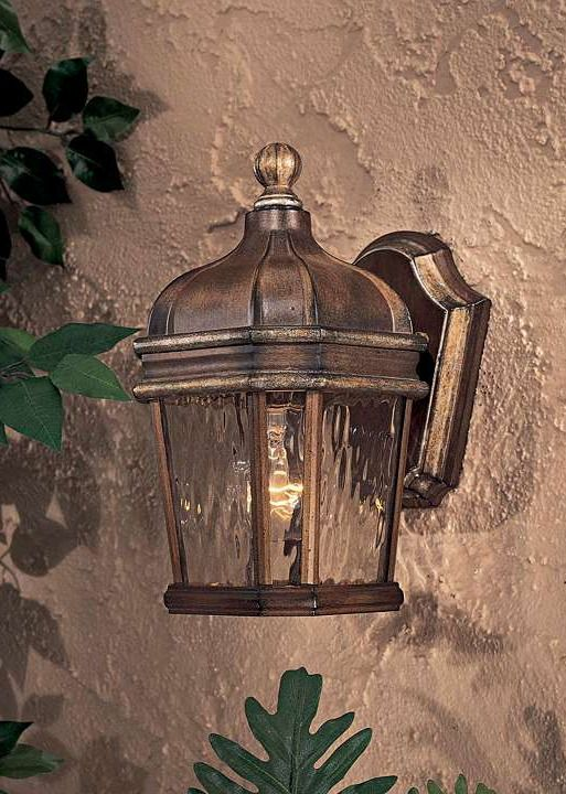 Beautifully shine a light on your porch or patio with the handsome Marseilles Outdoor Wall Sconce.