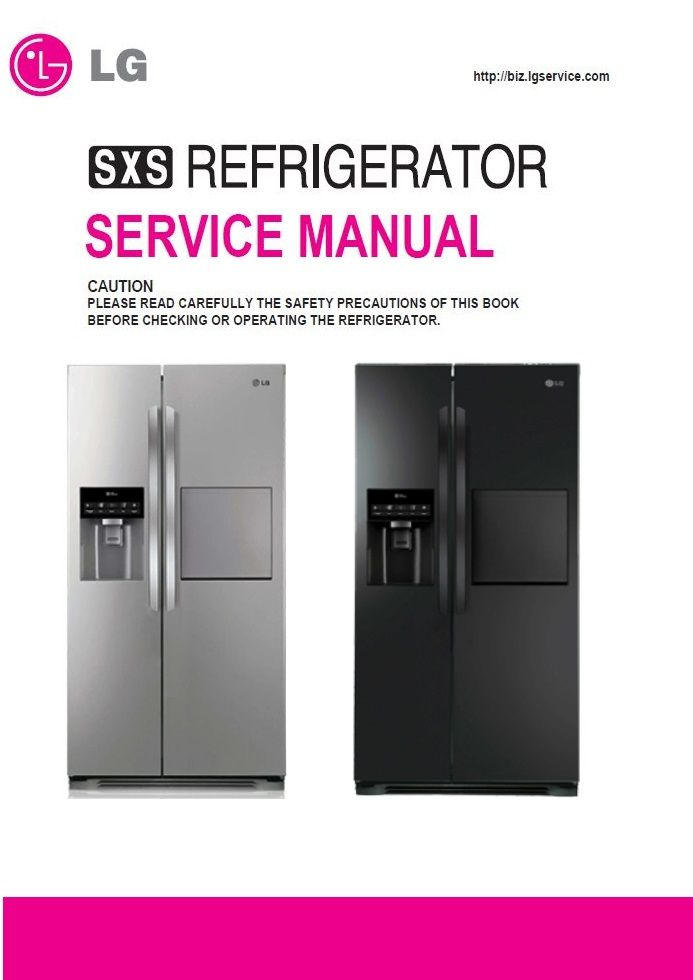 Lg Gr 409gxpa Owner S Manual Manualzz