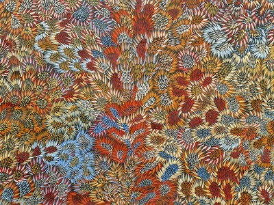 ' Bush Leaf Dreaming' by #Aboriginal Artist Abie Loy Kemarre
