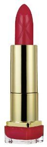Max Factor elixir Lipstick 715 Ruby Tuesday by MAX FACTOR. $16.65. contains a 60% blend of skin emollients, conditioners and antioxidants including vitamin E, for a visible transformation in the look and feel of your lips in just 7 days. For instant fabulous colour and smoother, softer* lips over time look no further than Max Factor's new Colour Elixir Lipstick. The Elixir formula contains a 60% blend of skin emollients, conditioners and antioxidants including vitamin E, for ...