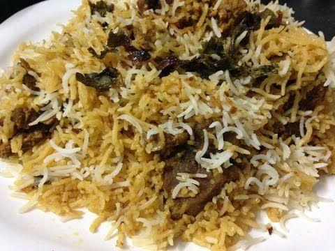 Hyderabadi Mutton Dum Biryani Recipe - How To Make Hyderabadi Biryani