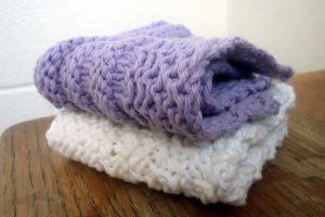 Easy Knit Washcloth