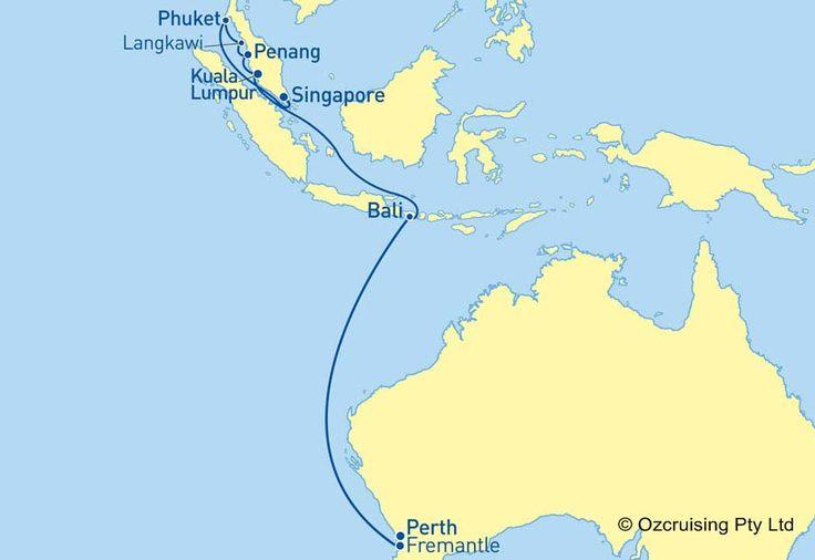 Dawn Princess Fremantle to Singapore Cruise - Ozcruising