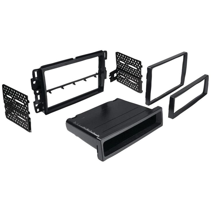Best Kits In-dash Installation Kit (chevrolet Suburban And Tahoe 2007-2013 & Impala And Monte Carlo 2006-2007 Double-din And Single-din With Pocket)