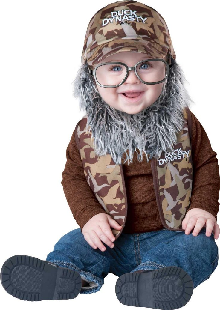 Duck Dynasty - Uncle Si Infant/Toddler Costume from BuyCostumes.com how awesome!