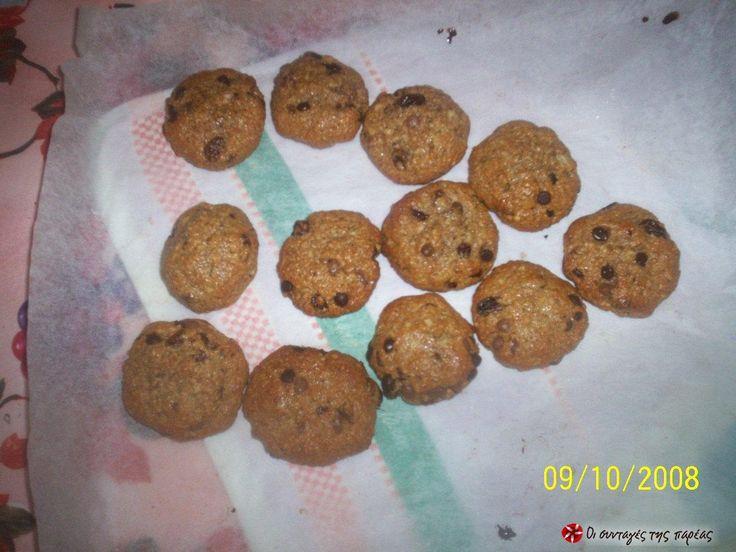 Μπισκότα με ταχίνι και μέλι #sintagespareas