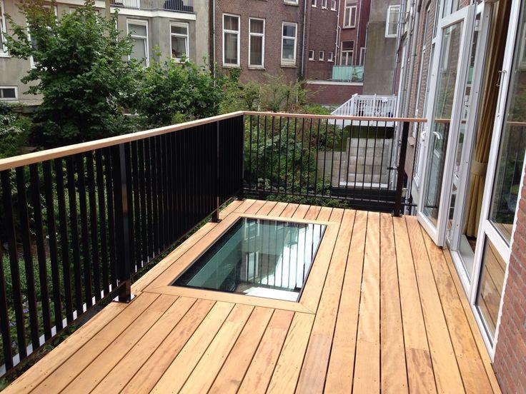 Regentesseplein, Den Haag – Walkon glass integrated in roofterrace floor