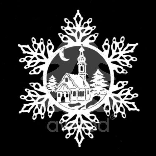 Sněhová vločka - kostel