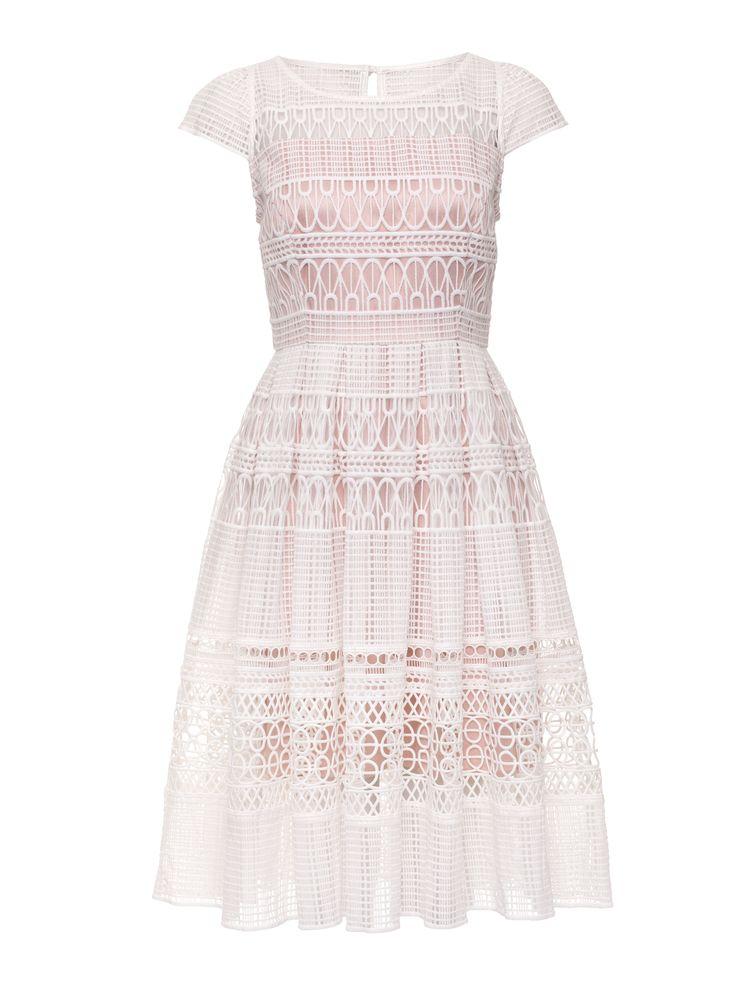 Saint Petersburg Dress | Cream and Nude | Dress